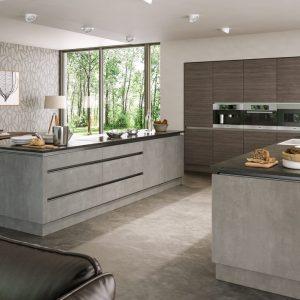 valore-grey-brown-ontario-wallnut-light-concrete-kitchen