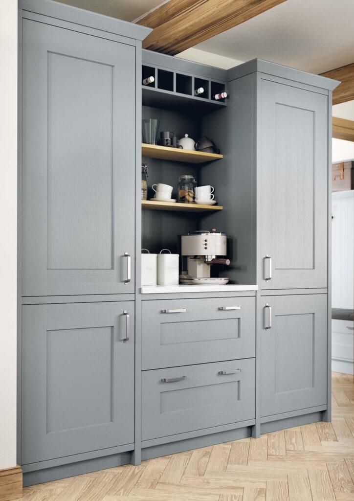 Installing An In Frame Kitchen, Tall Kitchen Cabinets Ireland
