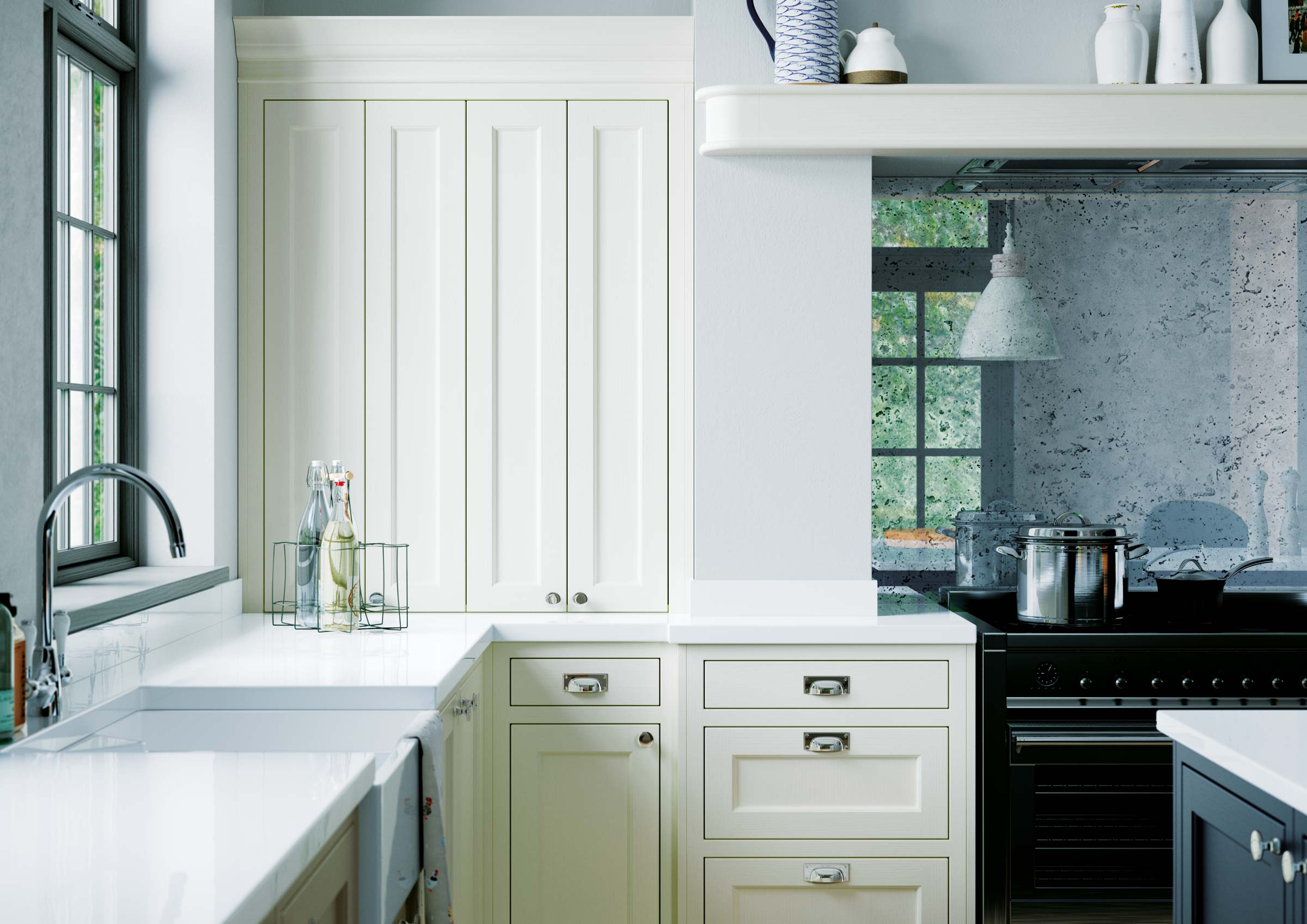 Advantages of In-Frame Kitchen Cabinets