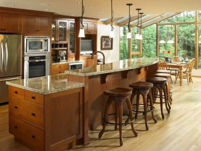 What is the best size for a kitchen island?